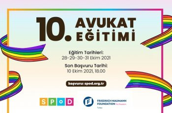 LGBTİ+ Haklarına İlişkin 10. Avukat Eğitimi Başvuruları Açıldı