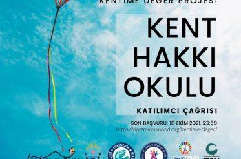 Kent Hakkı Okulu İzmir ve Eskişehir'den Katılımcılarını Bekliyor